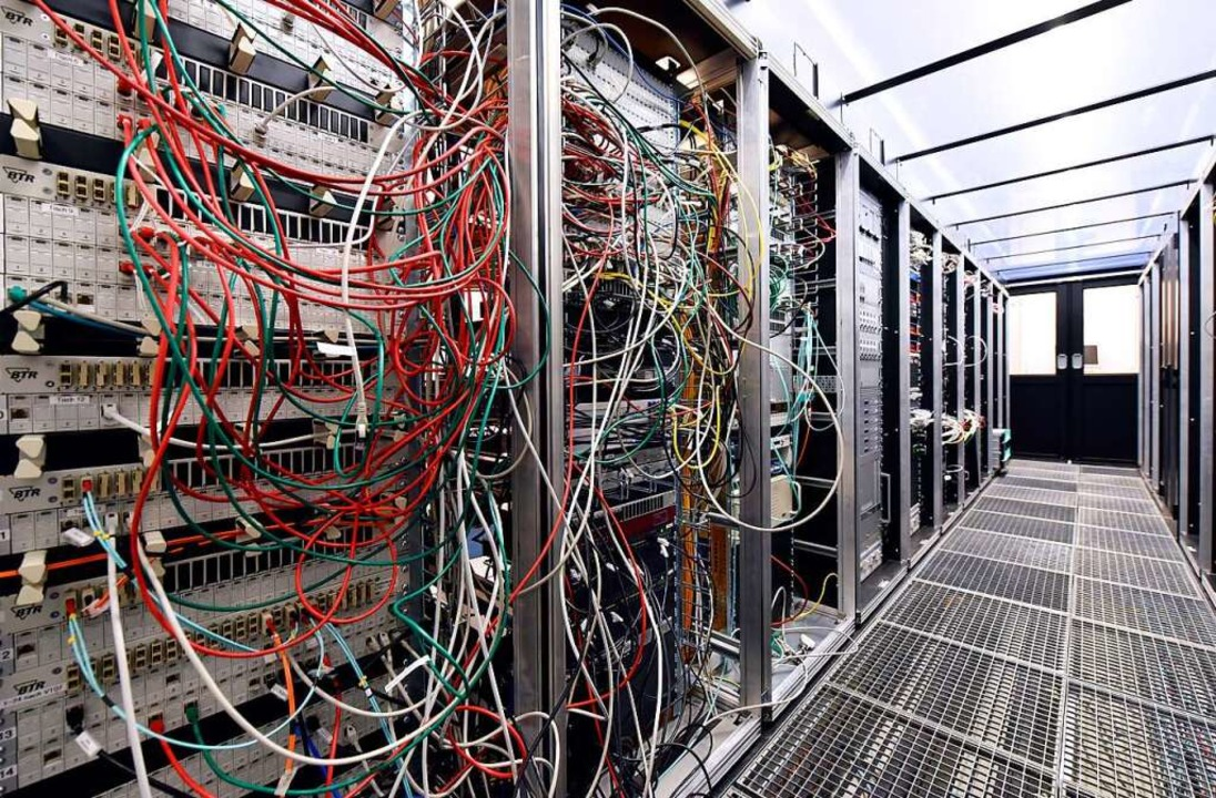 Der Serverraum  | Foto: Thomas Kunz