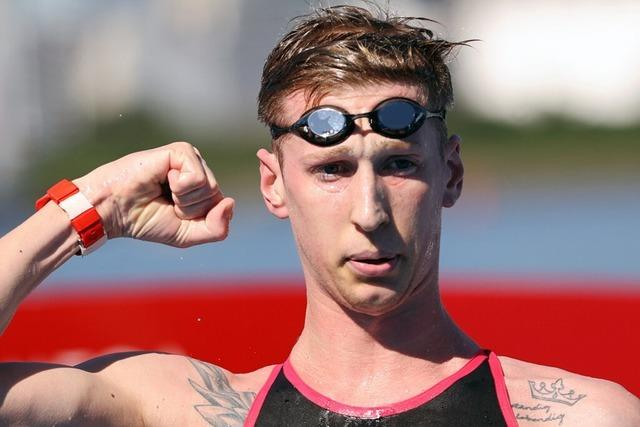 Wellbrock bejubelt Olympiasieg im Freiwasserschwimmen