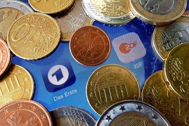 Rundfunkbeitrag steigt um monatlich 86 Cent auf 18,36 Euro