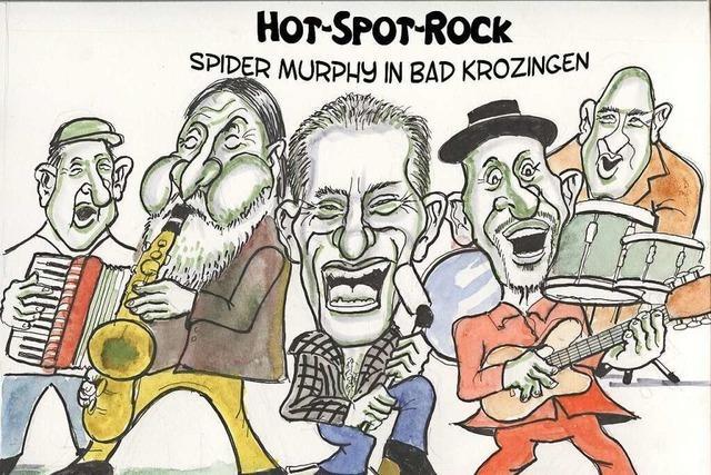 Keine Karten mehr für Spider Murphy Gang