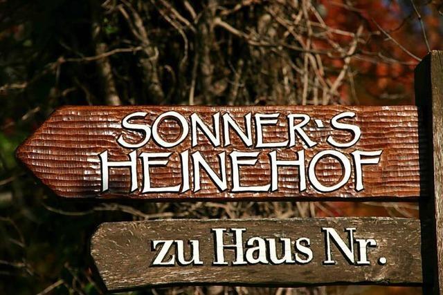 Sonners Heinehof in Bollschweil für Produktvielfalt ausgezeichnet