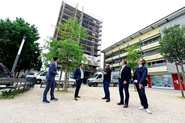 Brandschutz war die größte Herausforderung für Holzwohnhaus in Weingarten