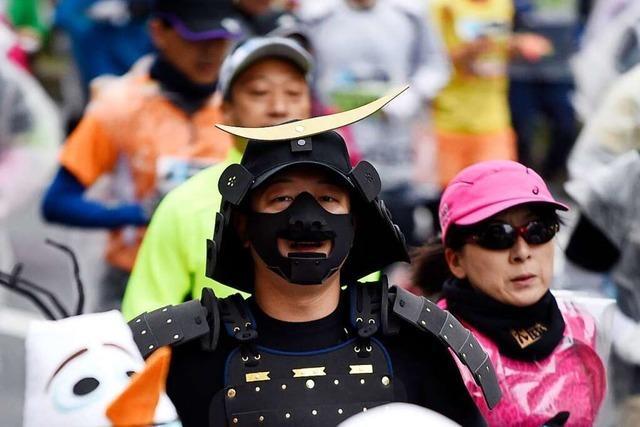 Auf den Marathon müssen die Tokioter schmerzlich verzichten