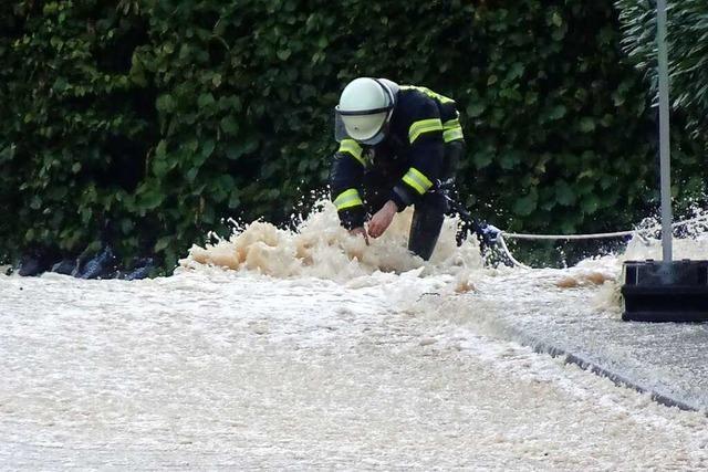 Unwetter im Kreis Lörrach bestätigen die Gefahrenkarten zum Starkregen