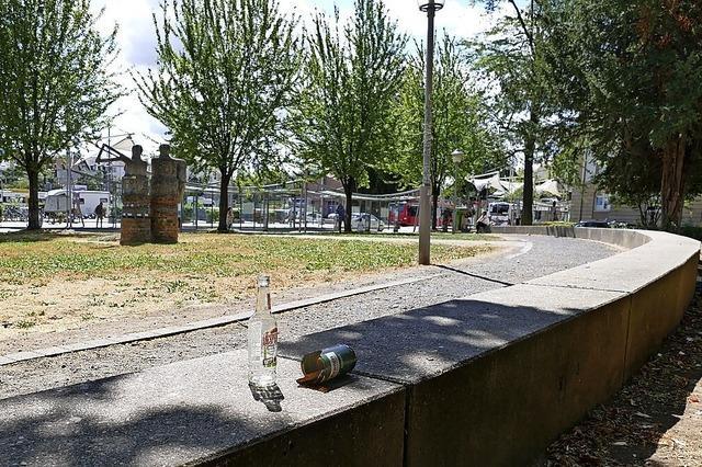 Stadt opfert Sitzgelegenheiten im Park der Sicherheit