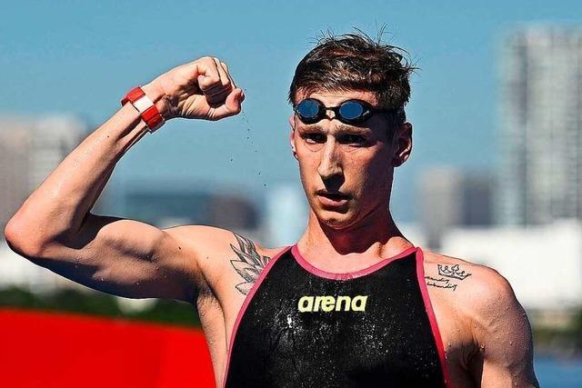 Florian Wellbrock zeigt im Freiwasser grandioses Gold-Rennen