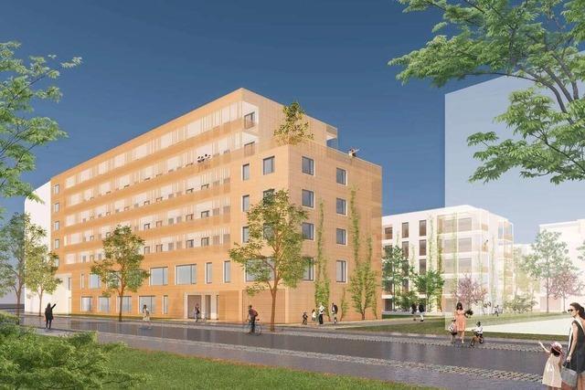 Freiburger Stadtbau errichtet auf dem Güterbahnhofgelände 75 Wohnungen