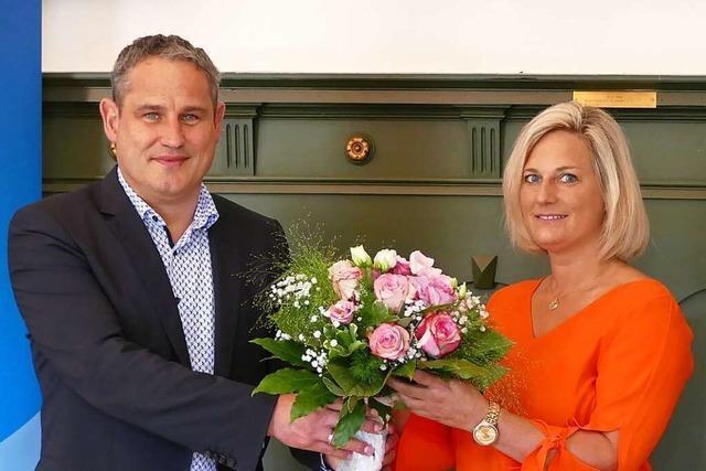 Kristina Moos ist die neue Leiterin der Grundschule in Wiechs