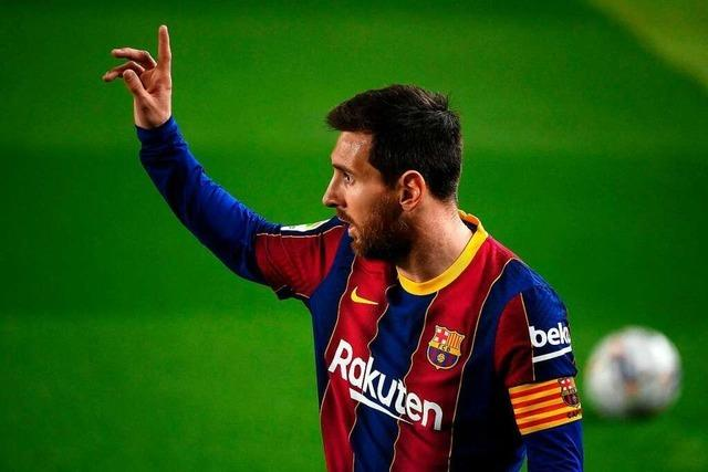 FC Barcelona kann sich Lionel Messi nicht mehr leisten