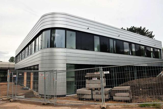 Die neue Turnhalle am Gundelfinger Schulzentrum ist für 7,8 Millionen Euro fertig gebaut