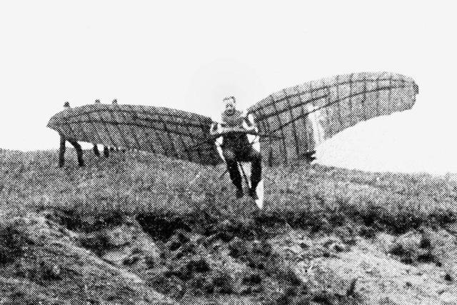 Südbadens Flugpionierin startete einst von einem Brauereidach
