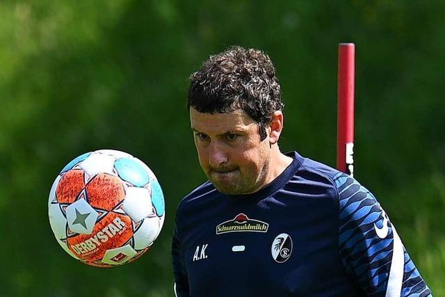 SC-Torwarttrainer Kronenberg arbeitet künftig für den DFB – zunächst in Teilzeit