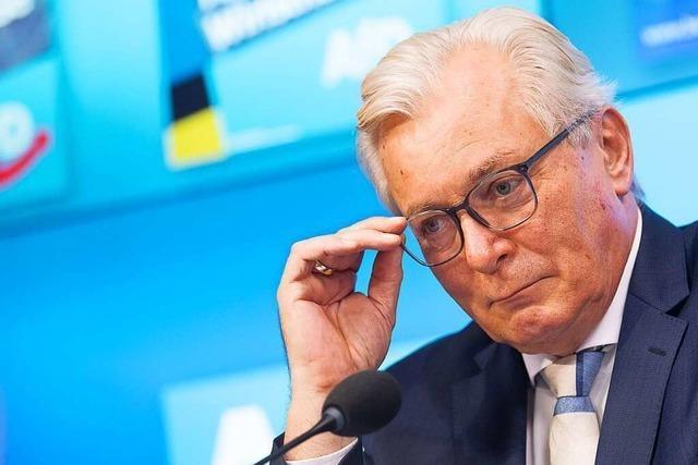 AfD-Landtagsfraktionschef Gögel: