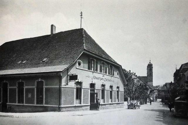 Schon 1872 gab es in Bad Säckingen ein Gasthaus