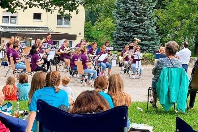 Neue Konzertformen finden bei Musikvereinen in der Region Anklang