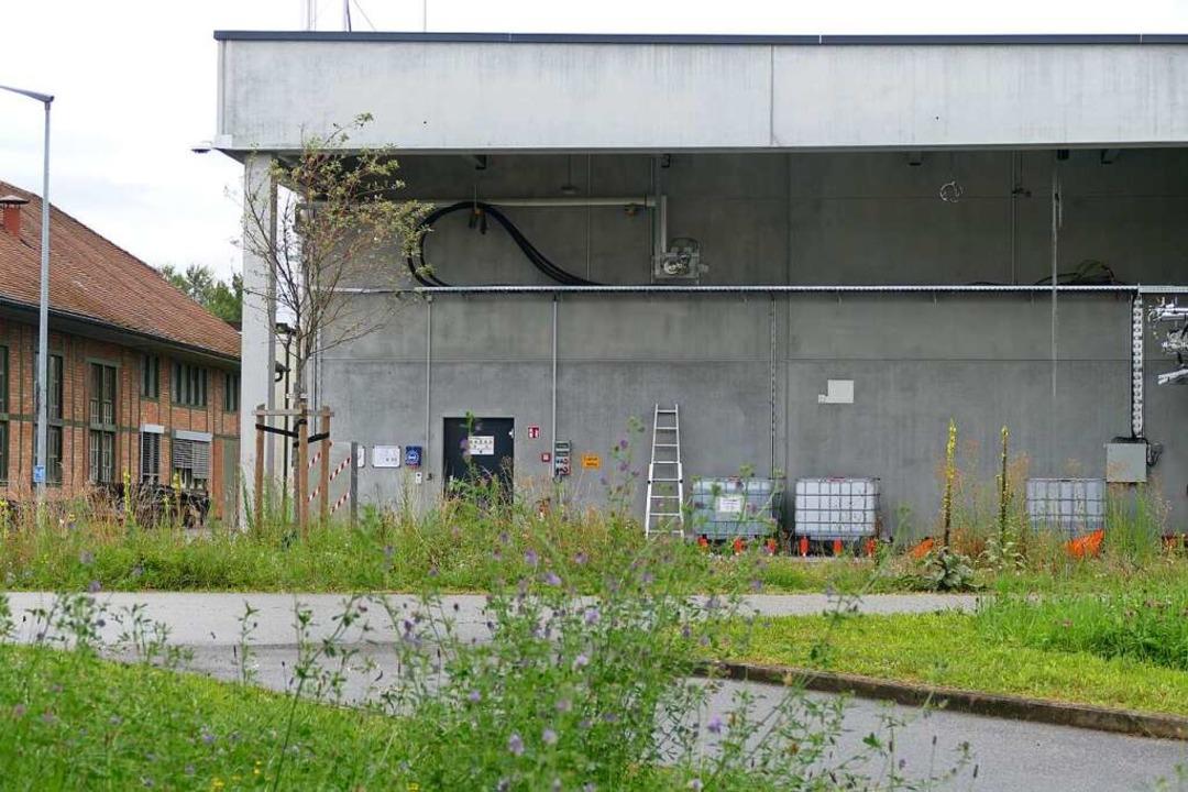 Die Power-to-Gas-Anlage    Foto: Verena Pichler