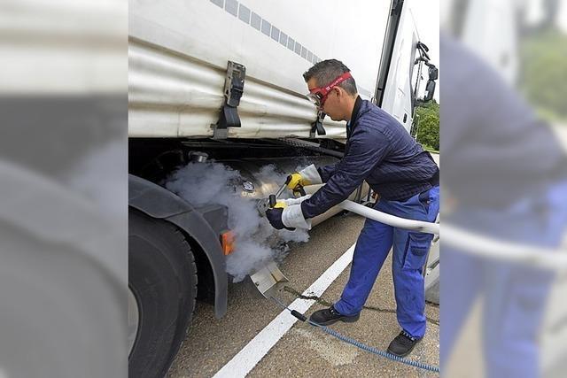 Gute Energiebilanz von erdgasbetriebenen Lkw