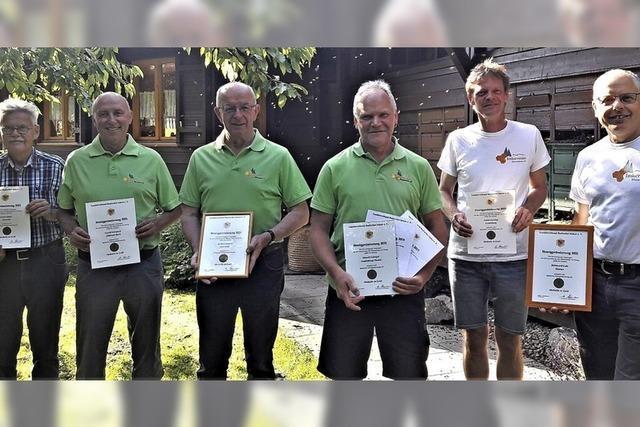 Sechs Goldmedaillen