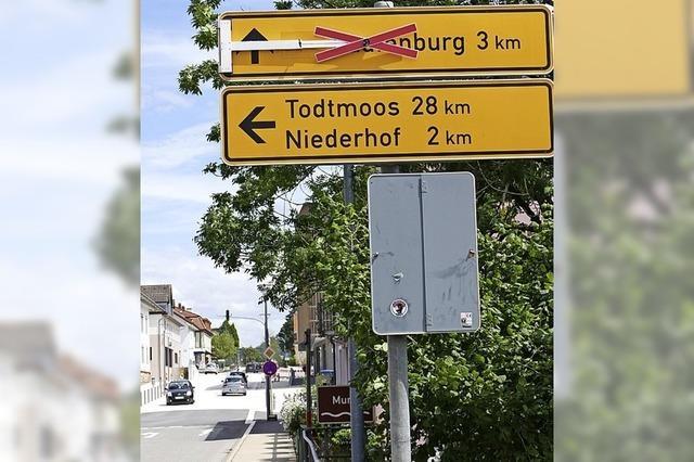 RHEINFÄLLE: Wo geht's nach Laufenburg?