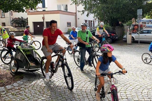 Bürgermeister wettet gegen die Schopfheimer Stadtradler – und verliert