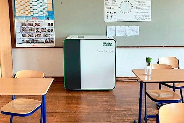 Grünes Licht für Luftfilter an Schulen in Baden-Württemberg