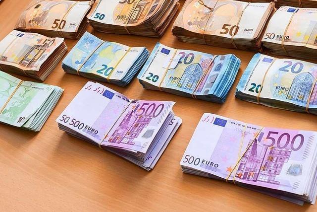 Einzahlungen ab 10.000 Euro ab Montag nur noch mit Nachweisen