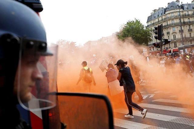Eine laute, zornige Minderheit wird zum Problem für Frankreichs Präsidenten