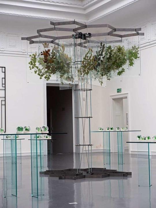 Installation von Neda Saeedi in Baden-Baden.  | Foto: Museum