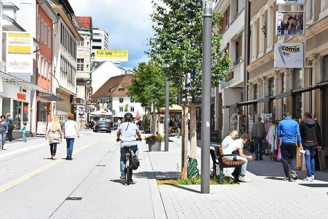 Die nördliche Basler Straße in Lörrach soll Lebensraum werden