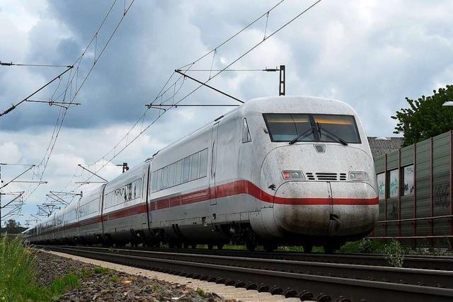 Neue Debatte über die Teilung der Bahngleise für Güter- und ICE-Züge
