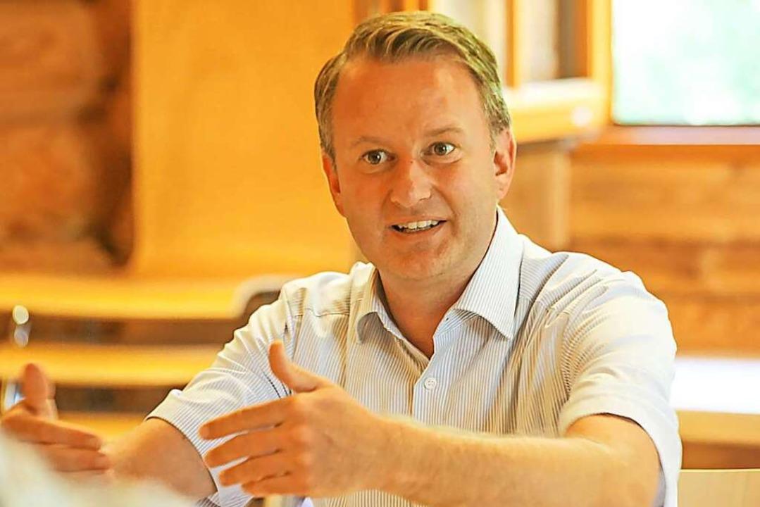 Ringsheims Bürgermeister Pascal Weber will keine Neuauflage der Diskussion.  | Foto: Sandra Decoux-Kone