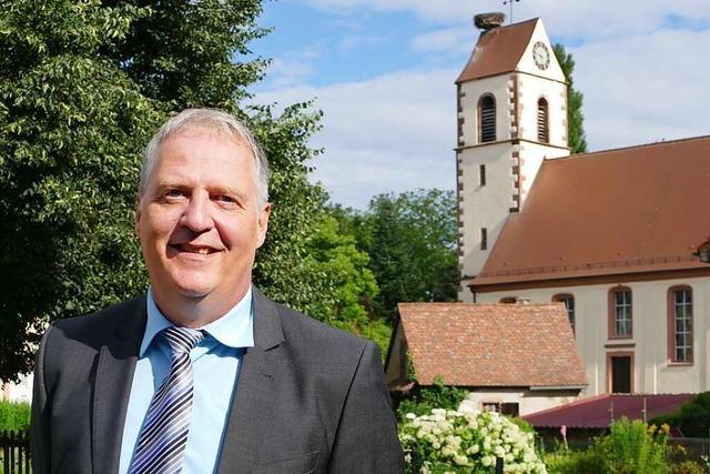 Martin Gräßlin möchte als Bürgermeister wiedergewählt werden
