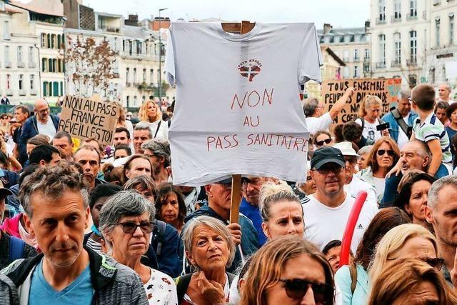 Wieder Zehntausende bei Corona-Protesten in Frankreich
