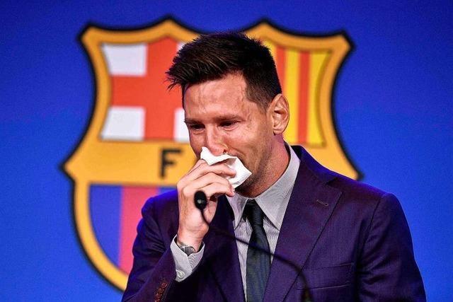 Tränen-Abschied von Messi: