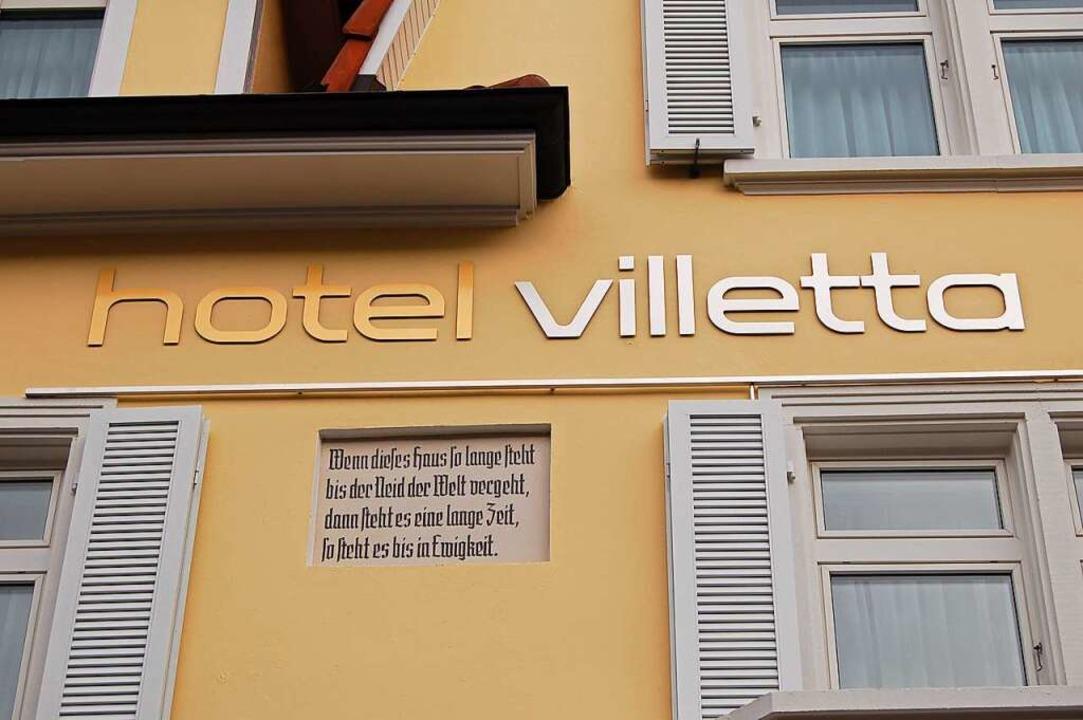 Das Hotel Villetta in Grenzach-Wyhlen  | Foto: Vollmar