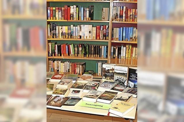 Bücherei liefert wieder Lesestoff