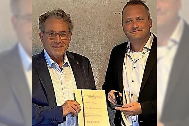 40 Jahre lang CDU-Mitglied