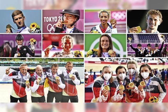 Das deutsche Team gewinnt in Tokio zehnmal Gold