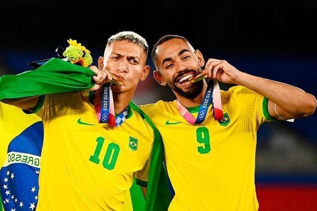 Brasiliens Fußballer machen's wie in Rio