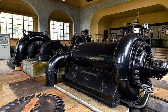 Schön, aber nicht in Betrieb – das Wasserkraftwerk Zweribach