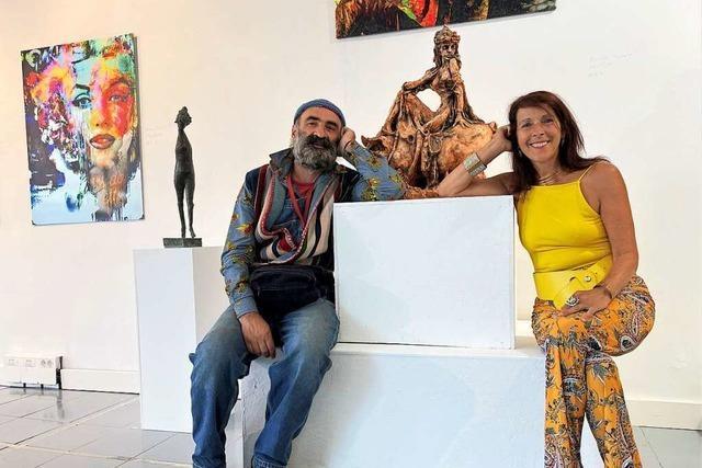 Doppelausstellungen in der Stettener Galerie