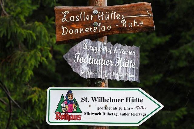Am 10. August haben dieses Jahr fast alle Hütten am Feldberg offen