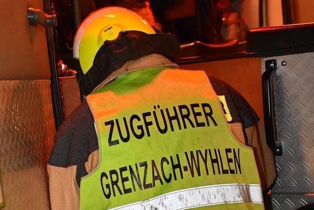 2020 war für die Feuerwehr Grenzach-Wyhlen ein relativ ruhiges Jahr