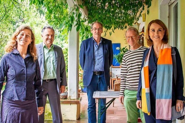 Im Rosenhof in Tegernau wird über Kultur im ländlichen Raum diskutiert