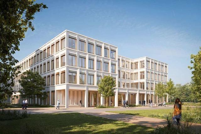 Am neuen Lörracher Klinikum entsteht auch ein neues Facharztzentrum