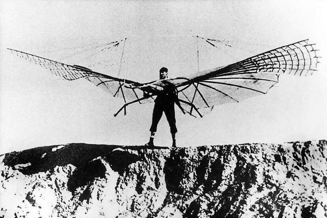 Verhängnisvolle Luftblase: Warum Otto Lilienthal vor 125 Jahren abstürzte