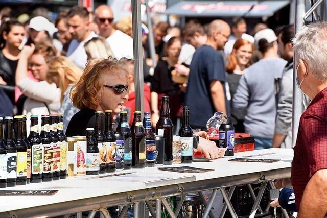 Zum Street-Food-Market kamen 10 000 Besucherinnen und Besucher