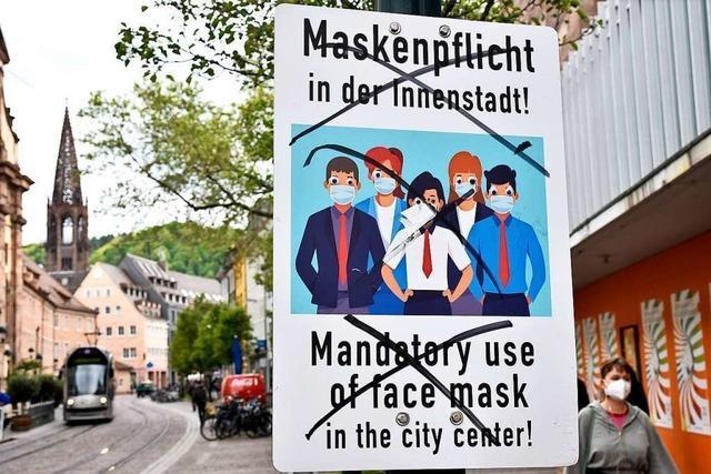 Stadt Freiburg ahndet 5900 Verstöße gegen die Coronaverordnung