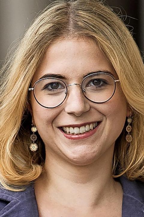 Chantal Kopf, Kandidatin der Grünen für den Bundestag  | Foto: Peter Hermann