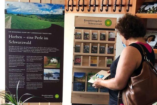 Einheimische und Besucher können in Horben mehr über Biosphärengebiet erfahren